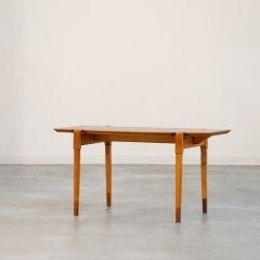 リビングテーブル(チーク&ブナ)幅76cm|ST1797