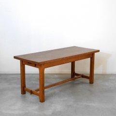 オーク材無垢ダイニングテーブル(幅175cm)|DT1925