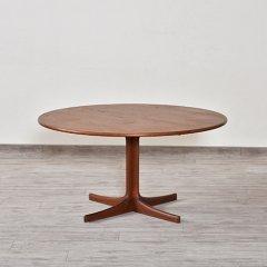 デザイナーズ|ラウンドコーヒーテーブル(チーク)Karl Erik Ekselius|UD7240