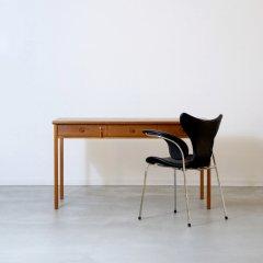 デザイナーズ|デスク(チーク)幅132cm/ピーター・N・ロビン|UD10354