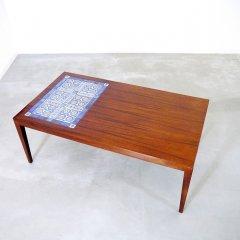 デザイナーズ|ロイヤルコペンハーゲンタイルトップ コーヒーテーブル/サヴァリン・ハンセンJr/TENERA|UD9242
