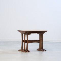 ネストテーブル(チーク)|UD11080