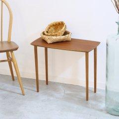 サイドテーブル(チーク&オーク)|UD11089