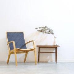 幅63cmサイドテーブル(チーク)|UD11092