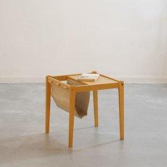 デザイナーズ|サイドテーブル(ビーチ)/Bent Siberg|UD11103