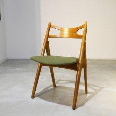 【選べる生地】デザイナーズ|Sawbuck chair/ CH29/ハンス・J・ウェグナー| UD8229