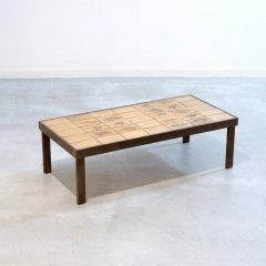 デザイナーズ|タイル付きコーヒーテーブル/ロジャー・カプロン|ST1879