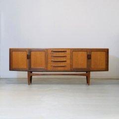 デザイナーズ|大型サイドボード(G-plan フレスコ)/幅214cm|SB2051
