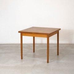 伸長式ダイニングテーブル(チーク・幅86cm) |DT2333