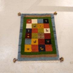 手織り絨毯85x58cm(ウール100%)|ギャッベ20-3816