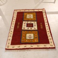 手織り絨毯137x98cm(ウール100%)|ギャッベ20-3880