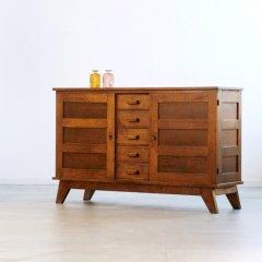 デザイナーズ|サイドボード(幅154cm/オーク)ルネ・ガブリエル|SB2215