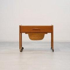 ソーイングテーブル(チーク)|UD11094