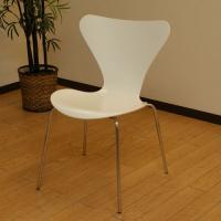 北欧デンマークのビンテージ家具/UD13/ヤコブセン セブンチェア(WH)