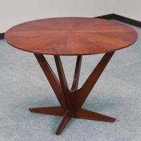 北欧デンマークのビンテージ家具/UD95/ラウンドテーブル