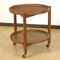 北欧デンマークのビンテージ家具/UD2037/ワゴンテーブル