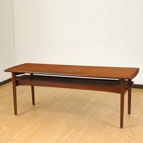 北欧デンマークのビンテージ家具/UD2060/コーヒーテーブル(TK)