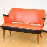 北欧家具アウトレット/北欧デンマークのビンテージ家具/UD2092/2Pソファー