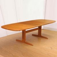 北欧家具アウトレット/北欧デンマークのビンテージ家具/UD2094/ダイニングテーブル/スコビー(TK)