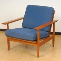 北欧デンマークのビンテージ家具/UD2102/アームチェアー