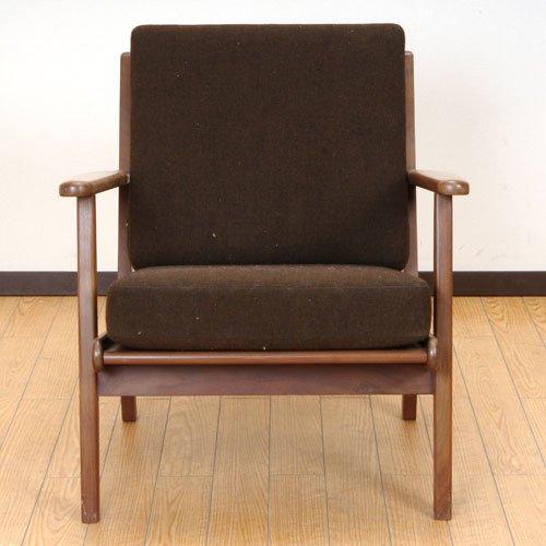 北欧デンマークのビンテージ家具/UD3057/イージーチェア(TK)