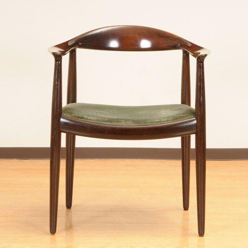 北欧デンマークのビンテージ家具/UD3088/ウェグナー ザ・チェアー(マホガニー)/Johannes Hansen
