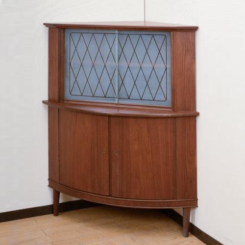 北欧家具アウトレット/北欧デンマークのビンテージ家具/UD4120/コーナーキャビネット