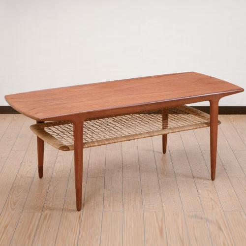 北欧デンマークのビンテージ家具/UD4123/コーヒーテーブル/Johs Andersen