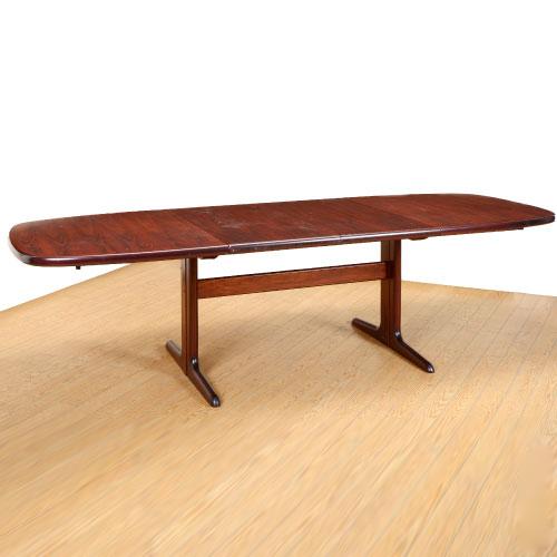 北欧家具アウトレット/北欧デンマークのビンテージ家具/UD4117/伸長式ダイニングテーブル/Skovby