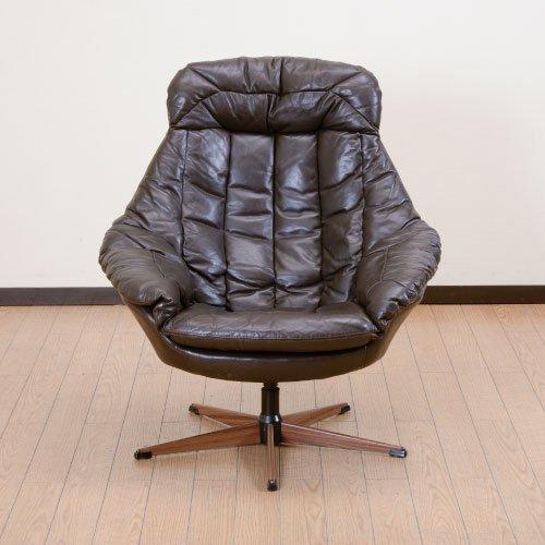 北欧デンマークのビンテージ家具/UD4039/パーソナルチェア/H・W・Klein
