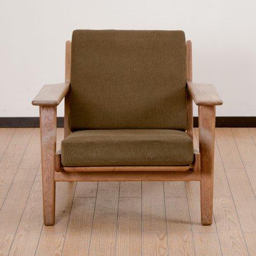 北欧デンマークのビンテージ家具/UD4076/GE290アームチェア/ハンス・J・ウェグナー