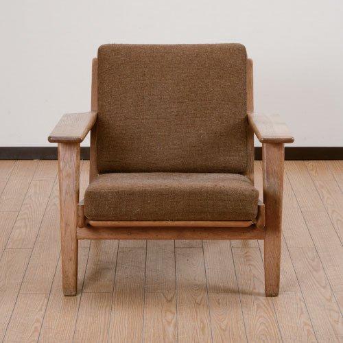 北欧デンマークのビンテージ家具/UD4077/GE290アームチェア/ハンス・J・ウェグナー