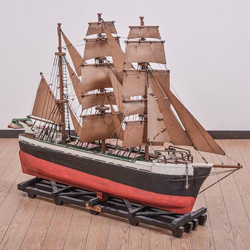 北欧デンマークのビンテージ家具/UD5002/帆船モデル