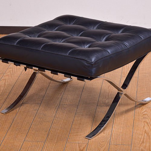北欧デンマークビンテージ家具/UD5098/バルセロナスツール