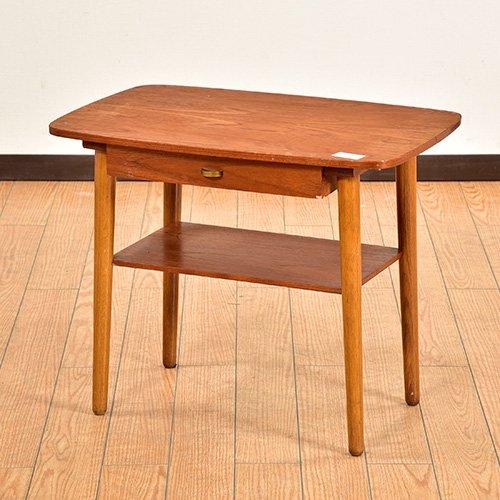 北欧デンマークビンテージ家具/UD6041/サイドテーブル