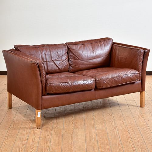 北欧デンマークビンテージ家具/UD6069/二人掛けソファ