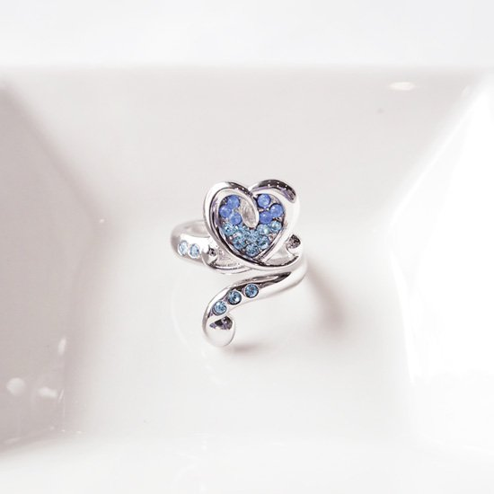 Pinky Ring〜ブルーシルバー