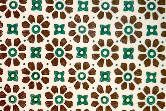 paper daisy brown green box needle online boutique 京都の