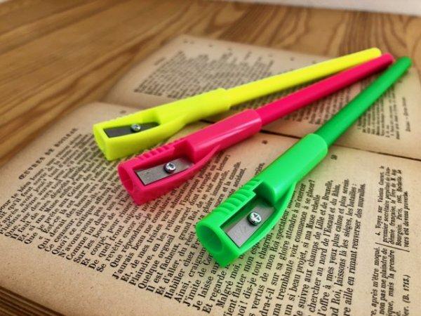 鉛筆ハイライター 削りキャップ付