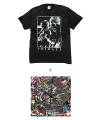 "FRIDAYZ×SIDEMILITIA inc.<br>【 ""DO IT"" CD+T-shirt SET 】"