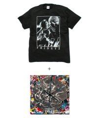 """Official Artist Goods / バンドTなど / FRIDAYZ×SIDEMILITIA inc.  """"DO IT"""" CD+T-shirt SET"""