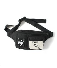 "RALEIGH<br>【 ""EXCITEMENT OF EARLY80'S RALEIGH"" WAIST BAG (with SKULL FLAG Morale Patch) 】"