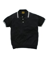"RALEIGH(2色展開)<br>【 ""しくじるなよ、ルーディー"" KNITTED POLO SHIRTS 】"