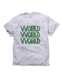 VVORLD(2色展開)<br>【 TRIPLE LOGO T-SHIRTS 】