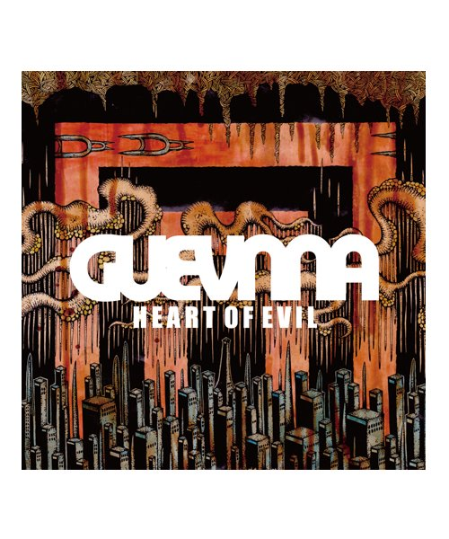 CD / DVD | GUEVNNA / ゲヴンナ:HEART OF EVIL (日本盤CD) 商品画像