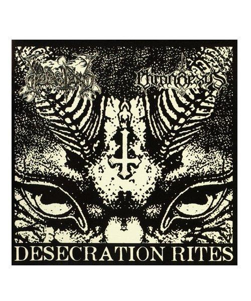 CD / DVD | DODSFERD / CHRONAEXUS:DESECRATION RITES (輸入盤 SPLIT CD) 商品画像