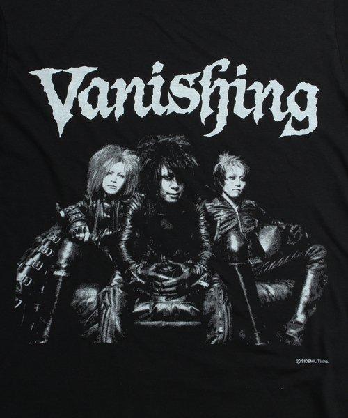 Official Artist Goods / バンドTなど |Vanishing × SIDEMILITIA / ヴァニシング × サイドミリティア:COLLABORATION T-SHIRTS (BLACK) 商品画像2