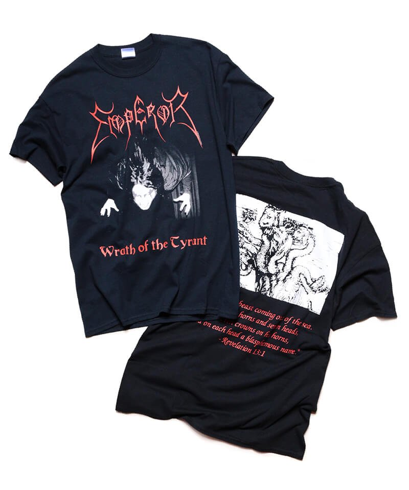 Official Artist Goods / バンドTなど   EMPEROR / エンペラー:WRATH OF THE TYRANT T-SHIRTS (BLACK) 商品画像