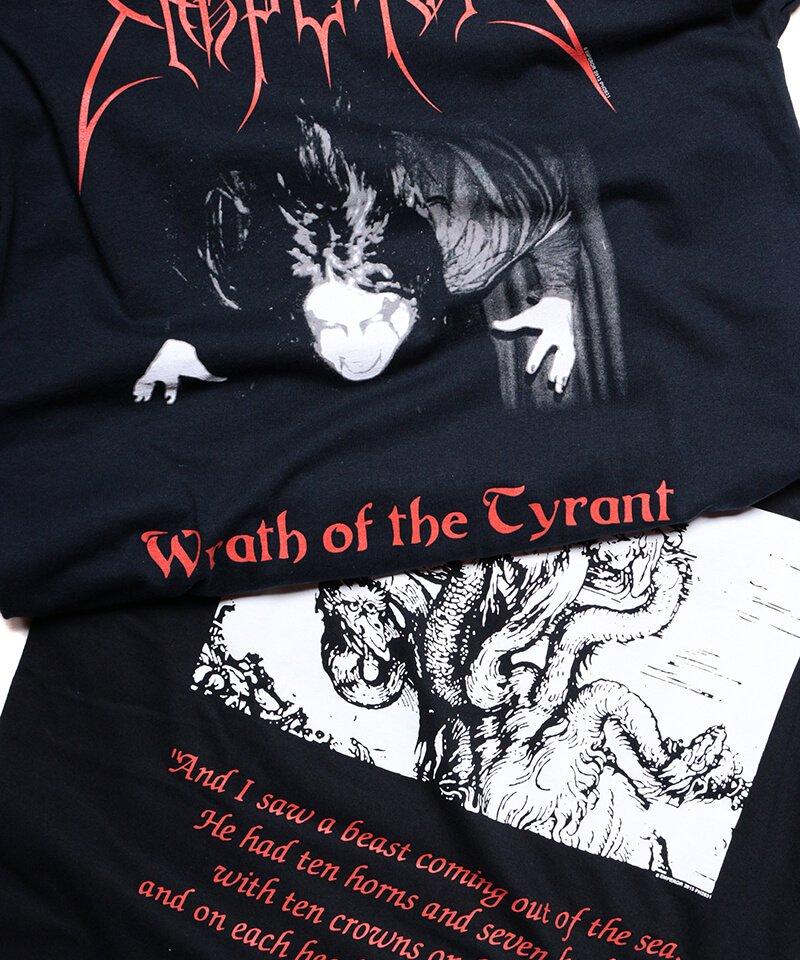 Official Artist Goods / バンドTなど  EMPEROR / エンペラー:WRATH OF THE TYRANT T-SHIRTS (BLACK) 商品画像1