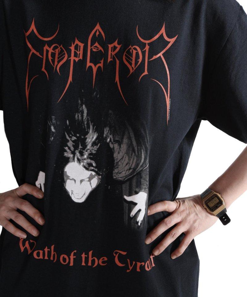 Official Artist Goods / バンドTなど  EMPEROR / エンペラー:WRATH OF THE TYRANT T-SHIRTS (BLACK) 商品画像10
